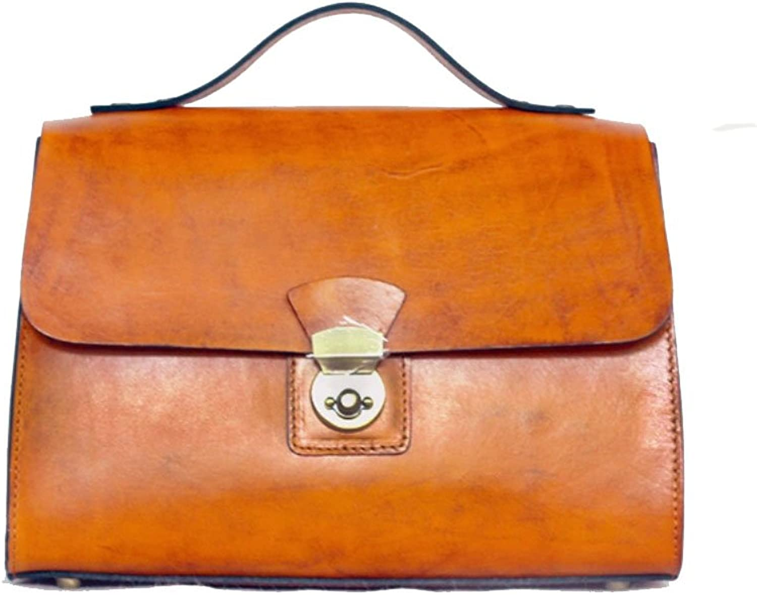 HIFISH HB100331 First Layer Of Leather OL Commuter Handbag,Box Commuter Bag