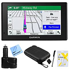 Garmin AUTHORIZED DEALER - Includes Full Garmin USA WARRANTY DriveSmart 51 NA LMT-S Advanced Navigation with Smart Features The DriveSmart 51 navigator is loaded with helpful driver alerts, live services and up-to-date content so you can always drive...