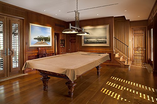 9 Foot Custom Cloth Pool Table Billiard Cover (Camel)
