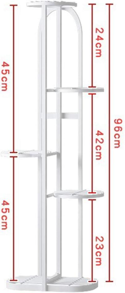 50 x 22 x 82cm MAJOZ0 Porte Plantes Fer Forg/é /Étag/ère Plante Ext/érieur Int/érieur de 5 Niveaux Id/éal pour Maison Balcon Terrasse Jardin