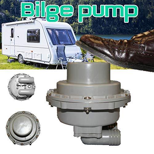 TXYFYP Bilgenpumpe, selbstansaugende Luftpumpe, tragbare Luftfüllmatratze mit Schnellbefüllung für Camping im Freien, aufblasbare Kissen, Luftmatratzenbetten, Boote, aufblasbare Pumpe