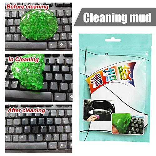 Class.Z Auto Reinigungsknete Magic Cleaning Clay Belüftungsöffnungen Klimaanlage Steckdose Tastatur Reinigungsschlamm Für Gitarre, Tastatur, Computer, Auto, Laptop, Cyber Putty Super wondeful here