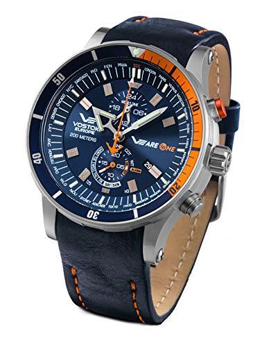 Vostok Europe VEAREONE Special Limited Edition Titan 510H434 - Reloj de hombre con 3 pulseras
