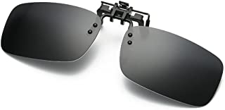 Men/Women Polarized UV400 Lens Clip-on Flip-up Sunglasses Eyewear