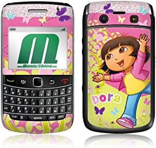 MusicSkins, MS-DORA10043, Dora The Explorer - Butterfly, BlackBerry Bold (9700), Skin