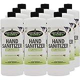 80% Alcohol GEL Hand Sanitizer - Antibacterial Formula Kills Germs - Made in USA - 32 OZ/12 Pack