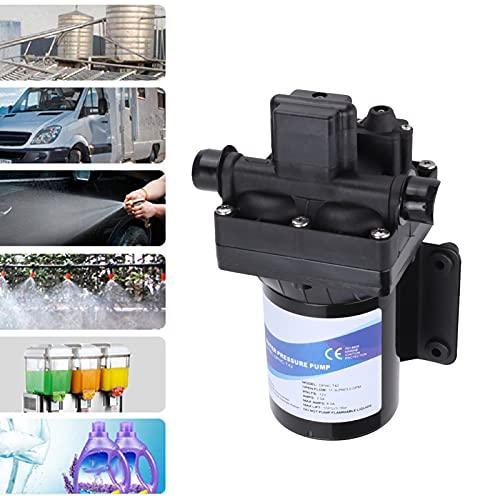 Bomba pulverizadora autocebante, tipo interruptor Bomba pulverizadora de refuerzo RV de bajo ruido 900 W 3,0 Gpm máx. Para caravanas RV Barco marino para aplicaciones agrícolas