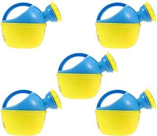 VORCOOL 5Pcs Watering Can with Sprinkler Head Water Kettle Cute Cartoon Watering Pot Children Watering Bottle for Plants F...