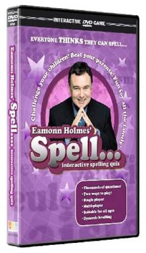 Spell - Interactive DVD Game starring Eamonn Holmes [Interactive DVD]