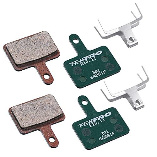 Generic 2 Sets von Fahrrad Bremsbeläge, Scheibenbremsbeläge aus Organic Compound, Fahrradbremsbeläge für Tektro Shimano Deore TRP