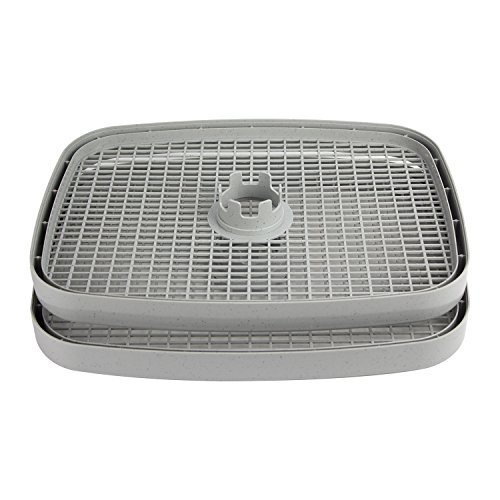 Buy CHARD 5DST-2 Food Dehydrator Tray, Gray - Set of 2