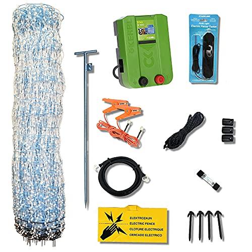 Starkline Standard Electric Poultry Netting Kit (AC Energizer- N1500)