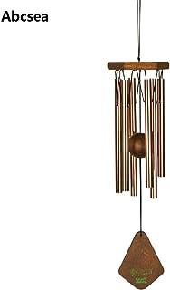 Abcsea plata windbell,campanas de viento tubulares,carillones de viento, campana tubular