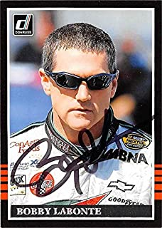 Bobby Labonte autographed Trading Card (Auto Racing, SC) 2018 Donruss #109 - Autographed NASCAR Cards