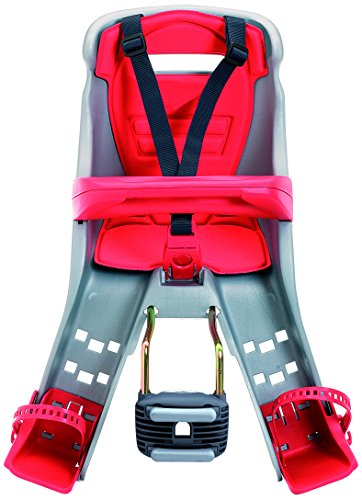 Big Save! Peg Perego Orion Grey/Red Front Mount Child Seat