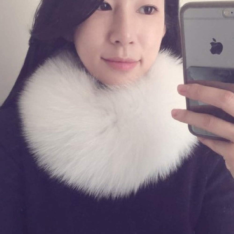 Fur Collar, Collar, Scarf, Short Female Winter Magnet Collar SLR