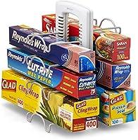 YouCopia WrapStand Kitchen Wrap Box organizer, one size キッチン ラップホルダー ラップスタンド ラップ収納 [並行輸入品]