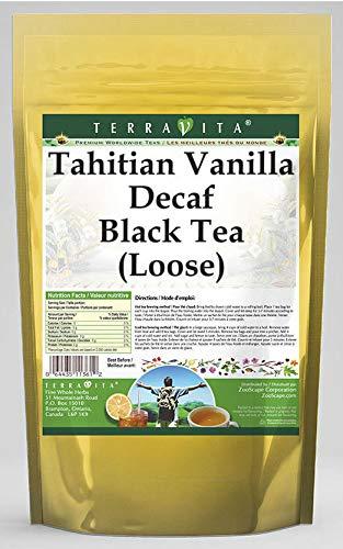Tahitian 2021 new Vanilla Decaf Black Tea Loose Bargain sale oz - 3 4 ZIN: 535774