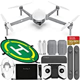 PowerVision PowerEgg X Wizard Waterproof AI Camera & Drone with Starter Accessory Bundle - Includes: SanDisk Extreme 64GB microSDXC Memory Card (UHS-I/V30/U3/A2) + Waterproof Landing Pad (50cm/20in)