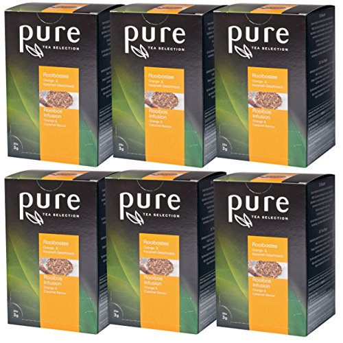 PURE Tea Selection Rooibos Orange & Karamell 6 x 25 Beutel Tee