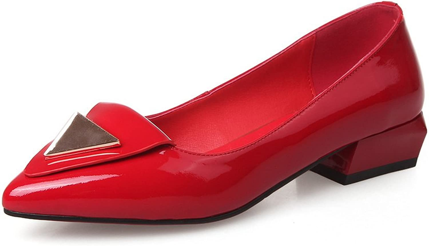 1TO9 Womens Professional Pointed-Toe Light-Weight Leather Loafers shoes MMS05000