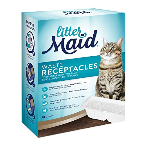 Littermaid P-70009 Waste Receptacles Litter Box Waste Receptacles,18 Count