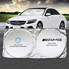 1.SWEATY OR MISERABLE? Ever opened your door to a blast of hot air in your face? Our windshield sun shade protects you from the sun's heat and harmful UV radiation rays. 2.PROTECT YOURSELF AND CAR: Extreme UV rays often cause fading, cracking, and se...