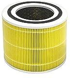 LEVOIT Purificador de aire Filtro de reemplazo de alergia para mascotas, 3 en 1 H13 HEPA, carbón activado de alta eficiencia, núcleo 300-RF-PA