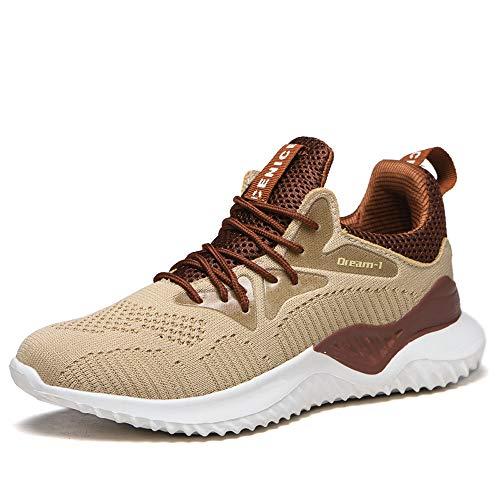 [ブルーポメロ] 安全靴 あんぜん靴 作業靴 メンズ レディース 軽量 通気性 鋼先芯JIS H級相当 KEVLARミッドソール 耐摩耗 クッション性 オシャレ 623カーキ 26.5