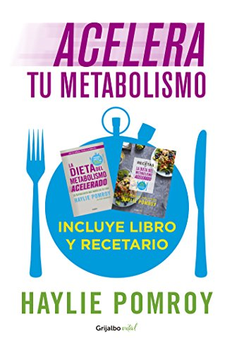 Acelera tu metabolismo (Paquete digital) (Colección Vital): Incluye libro y recetario