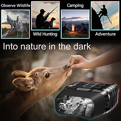 Product Image 1: HEXEUM Night Vision Goggles Night Vision Binoculars for Adults – Digital Infrared Binoculars can Save Photo and Video with 32GB Memory Card