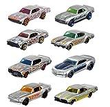 Hot Wheels Mattel 50th Anniversary Zamac Model Cars Set de 8 FRN23