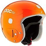 POC Pocito Skull, Casco da Sci Unisex-Bambini, Arancio (Fluorescent Orange), XS/S