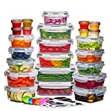 Best Tupperware Sets - 24 Pack Airtight Food Storage Container Set Review