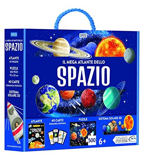 Il mega-atlante dello spazio. Ediz. a colori. Con puzzle