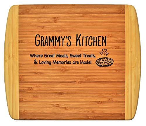 Grammy Gift – Engraved Bamboo Cutting Board