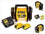 DeWalt DCC 018 N Akku Luftkompressor 18V 11bar KFZ + 2x Akku 2,0Ah + Ladegerät