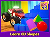 Learn 3D Shapes - Educational Video for Kids