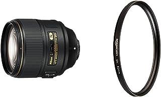 Nikon AF-S FX NIKKOR 105mm f/1.4E ED Lens with Auto Focus for Nikon DSLR Cameras with UV filter