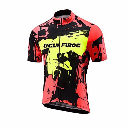 Uglyfrog 2019-2020 Neu Sommer Damen MTB Rennrad Radsport Trikots & Shirts Bike Wear Kurzarm Cycling Jersey Schnelltrocknend Sport Bekleidung