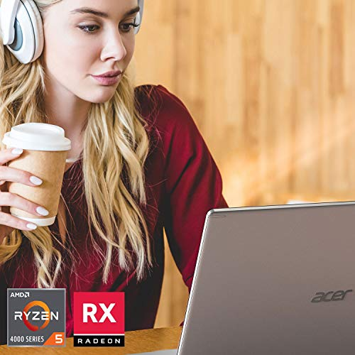 "Acer Aspire 5 A515-44G-R83X, 15.6"" Full HD, AMD Ryzen 5 4500U Hexa-Core Mobile Processor, AMD Radeon RX 640, 8GB DDR4, 256GB NVMe SSD, WiFi 6, HD Webcam, Backlit Keyboard, Windows 10 Home"