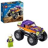 Lego City Great Vehicles - Monster Truck Set de Construcción de Un Camión con Espacio para Minifigura, Juguete Recomendado A Partir de 5 Años, Novedad 2020 (60251)