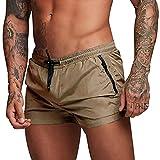 Pantaloncini Mare Uomo Corti Costume da Bagno Uomo Short Mare Shorts Mare...