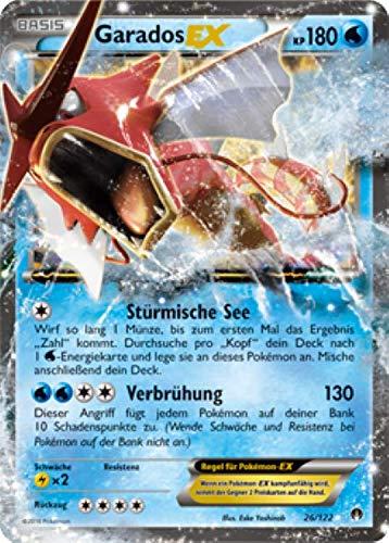 Garados EX 26/122 Schimmerndes Pokémon XY Turbo Fieber Sammelkarte - Deutsch - Cardicuno