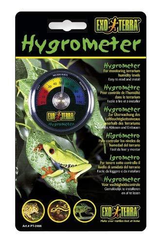 Exo Terra analoges Hygrometer zur Platzierung im Terrarium