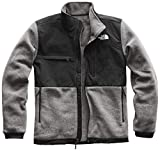 The North Face Denali 2 Jacket - Men's Recycled Charcoal Grey Heather/TNF Black X-Large