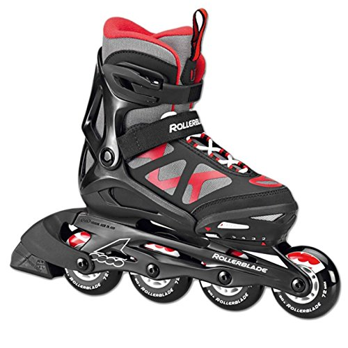 COMET 3.0 JUNIOR 2017 BLACK RED GR. 32 - 37 Rollerblade EU Kinder Inline-Skates