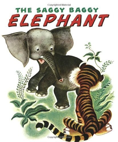 The Saggy Baggy Elephant (Little Golden Book) by Byron Jackson, Golden Books (2010) Hardcover