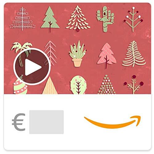 Cheque Regalo de Amazon.es - E-Cheque Regalo - Arbol de navidad (animación)