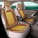Unbekannt Autositzbezug Kissen Rückenstütze Taille Massage Sommer Kühlen Bambusmatte Bambus Pad Cool Pad,B